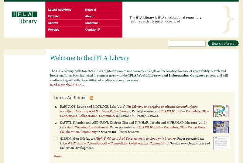 IFLA-library